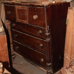 Cedar chest of Six drawer with full turnings