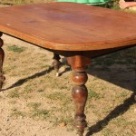 Cedar kitchen-dining table